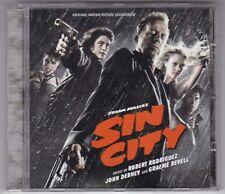 ROBERT RODRIGUEZ - SOUNDTRACK CD ALBUM  FRANK MILLER'S SIN CITY © 2005