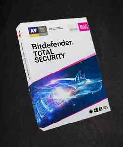 BITDEFENDER  TOTAL SECURITY 10 Devices 2Years NEW