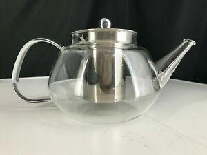 Borosilicate Glass Tea Pot 4 Cup