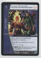 2007 VS System Marvel Team-Up Booster Pack Base #MTU-160 Dark Designs Card 3v2
