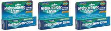 3 x HYDROCORTISONE CREAM Max. Strength 1%, Fast Itch/Rash Relief Natureplex 1oz