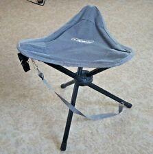 HIGHLANDER Tourist Chair 3 Leg Steel Tripod Folding Camping Fishing Chair