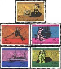 Madagaskar 794-798 (kompl.Ausg.) gestempelt 1976 100 Jahre Telefon