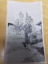 Vintage Photo - Very Hunky Sailor - WORLD WAR I - Gay Interest - Gainsville, FL