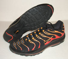 Rare Nike Air Max Plus 97 Running, Men's Size 13, Black/Orange, 327455-001