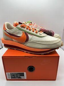 Nike Sacai x CLOT LD Waffle Orange Blaze DH1347-100 Men's Size 12 FREE SHIPPING