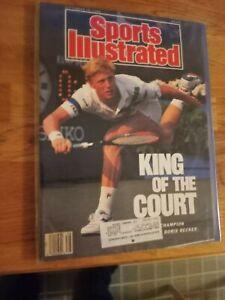 Boris Becker wins US Open - Sports Illustrated - 9/18/1989  tennis b