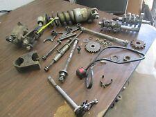 "2001 Suzuki JR80 10"" Monoshock & Linkage Kill Switch Chain Guard Etc Parts Lot"