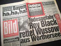 Bildzeitung BILD 06.08.1990 * zum 30. 31. 32. Geburtstag  * FC Bayern Weinheim