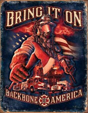 Fire Fighters - Bring It ON  Vintage Style Metal Signs Man Cave Garage Decor 69