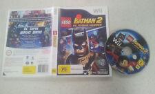 Lego Batman 2 DC Super Heroes Nintendo Wii Game PAL
