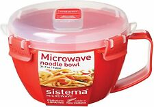 Microwave Cookware Bowl Heating 2 min Noodles Pasta Soups Stews 4-Cup/ 31.7 Oz