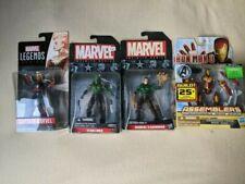 "Marvel Legends Universe Infinite series 3.75"" lot Drax Captain Marvel Iron Man"