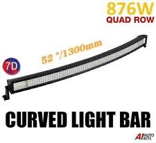 """52"""" Curved 7D Led 876W Work Flood Spot Combo Light Bar Off Road 4WD ATV 12V 24V"""