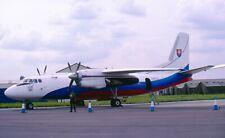 Original 35mm Aircraft slide Antonov An-24 #13