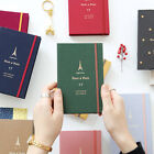 GMZ 2017 Diary Planner Scheduler Journal Personal Organizer + 2 Stickers + Cover