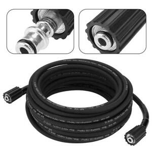 15M Replacement High Pressure Washer hose Heavy Duty M22 Jet Power Wash 2000 PSI