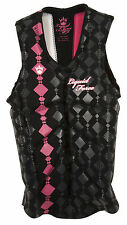 Liquid Force CARDIGAN COMP black/pink Vest Womens XS