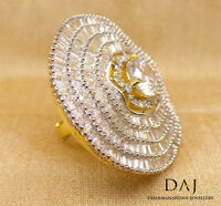 Cubic Zirconia Huge Cocktail Ring 0RC M1 /19 19 229
