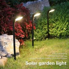 Solar Led Lawn Light Garden Yard Power Lamp Pathway Spotlight Outdoor Decoration