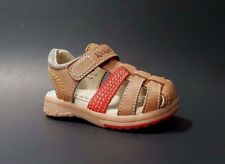 New $80 KICKERS Baby Boys Girls LEATHER Closed Toe Sandals Size 5 USA/21 EURO