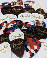 Fender Guitar Picks 24 Variety Pack(Shell, Confetti, White) (Thin, Med & Heavy)