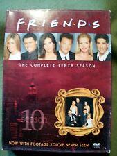 Friends - The Complete Tenth Season Box Set (DVD, 2005, 4-Disc Set)