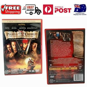PIRATES OF THE CARIBBEAN: THE CURSE OF THE BLACK PEARL (2-DISC) (DVD, M)