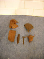 LOT VINTAGE MARX JOHNNY WEST INDIAN ACCESSORIES CHEROKEE GERONIMO FIGHTING EAGLE