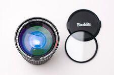 Starblitz Auto Zoom Macro MC 35-200mm f3.8-5.2 Lens Caps & Filter Canon FD #2073