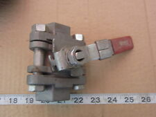 "Watts Reg Co S8500 LL 1"" NPT Ball Valve, Used"
