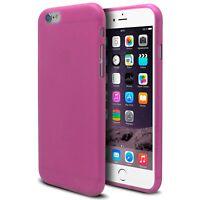Coque Housse Pour iPhone 6 Plus (5.5) Semi Rigide Gel Extra Fine Mat/Brillant Ro