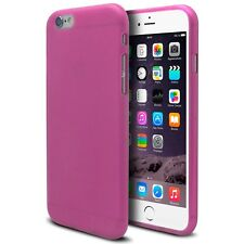Custodia Cover per iPhone 6 Plus 5.5 Semirigido Gel Extra Fine Opaco/Luminoso Ro