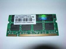 Barrette mémoire 1 GO Transcend SO-DIMM DDR PC2700