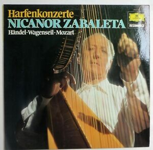 Harfenkonzerte Nicanor Zabaleta LP Vinyl Deutsche Grammophon Near Mint