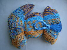 MAYAN HAMMOCK  2 Meters Wide - MULTICOLORED WOVEN - Holds 300Lbs+ FREE ROPES*#G4