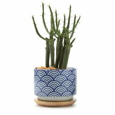 "3"" Ceramic Japanese Style Succulent Plant Pot Cactus Flower Container Planter"