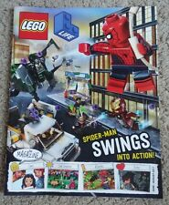 LEGO Life: The Magazine - Spider-Man Swings Into Action! June-August 2017 RARE