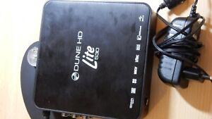 """2,5"""" Mediaplayer extern Dune HD lite 53d NAS Wlan FB LAN USB SD HDMI"""