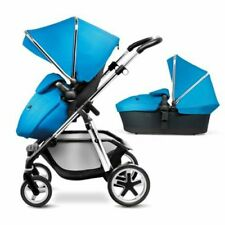 Silver Cross Pioneer Exclusive Package Pushchair WITH YELLOW & BLUE HOOD SET