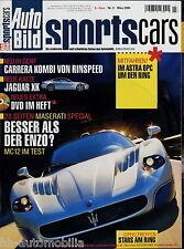 Auto Bild Sports Cars 3 06 2006 Quattroporte 911 Turbo MKB S 50/8 Mazda 6 MPS