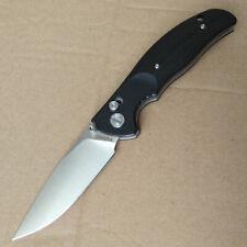 Y-START Messer JIN02 Taschenmesser Jagdmesser Einhandmesser D2 Stahl G10 Giffe
