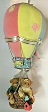 Very Rare Cherished Teddies 728608 Limited Edition 7251of12.5K Hot Air Balloon 4