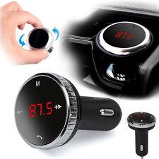 Wireless Bluetooth LCD FM Transmitter Modulator Car Kit MP3 Player SD w/Remote