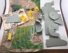 Marx Navarone Playset Parts ~ Play Mat, Instructions, Howitzer, Elevator, Guns +