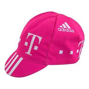 T-Mobile Cycling Cap Team Telekom Adidas Pink TMO worn by Jan Ullrich