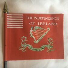 "St. Patrick's Day Jockey Hollow Nj - American Revolution Mini Desk Flag 4"" x 5"""
