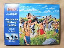 IMEX 1/72 HO 54mm American History Series Sioux Indians Set # 508 New 7762