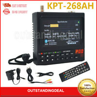 KPT-268AH DVB-S2 Digital Satellite Finder&Monitor Full HD DVB-S Sat Finder Meter
