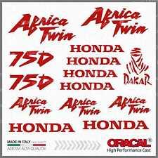 16x Kit HONDA Africa Twin XRV 750 Red ADESIVI PEGATINA STICKERS AUTOCOLLANT